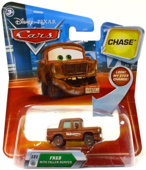Disney Cars Lenticular Eyes Series 2 Fred with Fallen Bumper Diecast Car