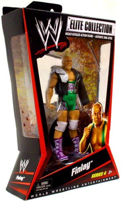 WWE Wrestling Elite Series 4 Finlay Action Figure