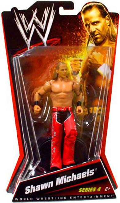 WWE Wrestling Series 4 Shawn Michaels Action Figure