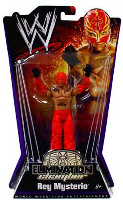 WWE Wrestling Elimination Chamber Series 1 Rey Mysterio Action Figure