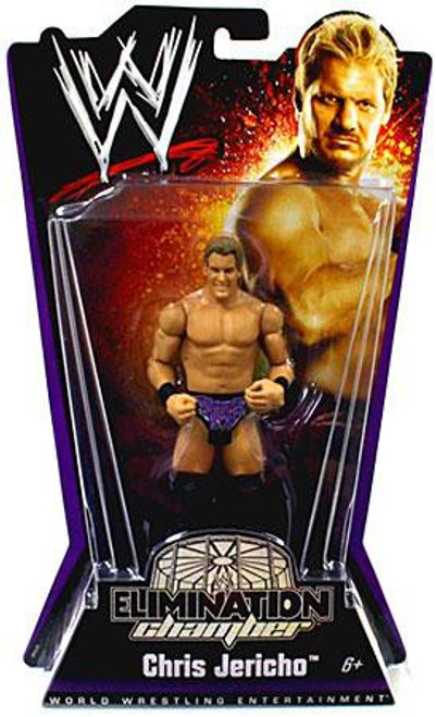 WWE Wrestling Elimination Chamber Series 1 Chris Jericho Action Figure