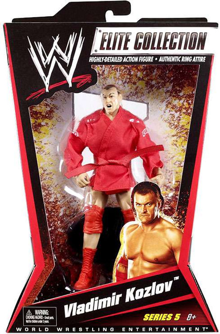 WWE Wrestling Elite Series 5 Vladimir Kozlov Action Figure