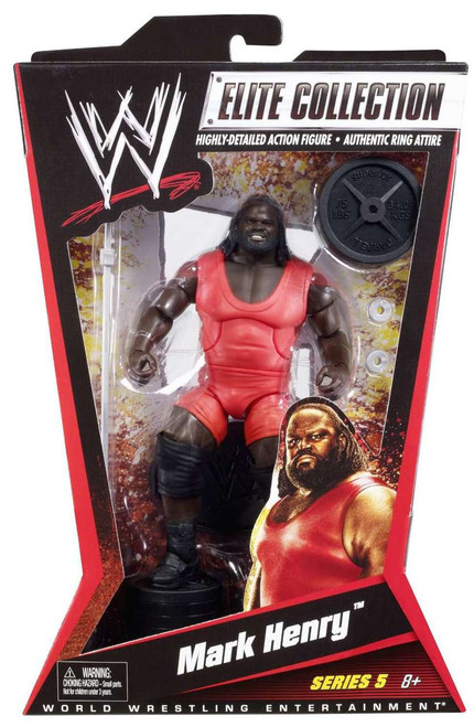 WWE Wrestling Elite Series 5 Mark Henry Action Figure