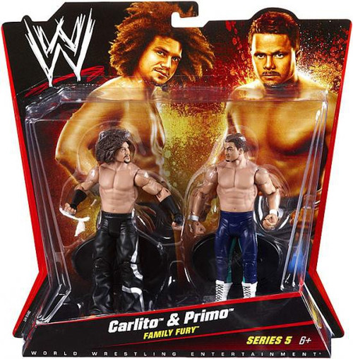 WWE Wrestling Series 5 Carlito & Primo Action Figure 2-Pack