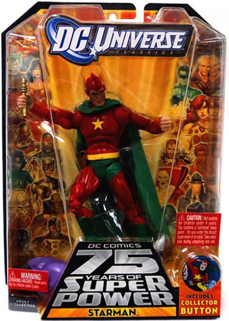 DC Universe 75 Years of Super Power Classics Starman Action Figure