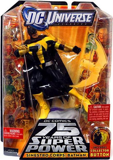 DC Universe 75 Years of Super Power Classics Sinestro Corps Batman Action Figure