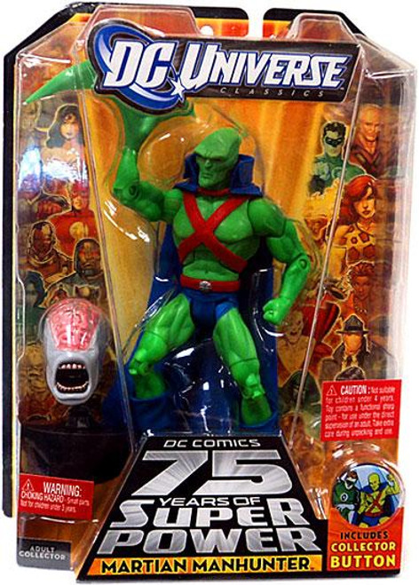 DC Universe 75 Years of Super Power Classics Martian Manhunter Action Figure [J'onn J'onzz]