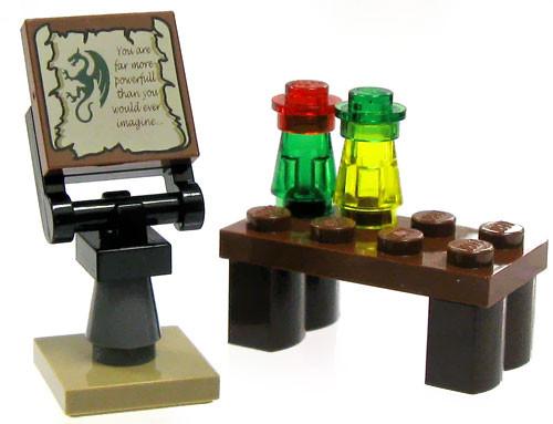 LEGO Castle Items Wizard's Workshop [Loose]