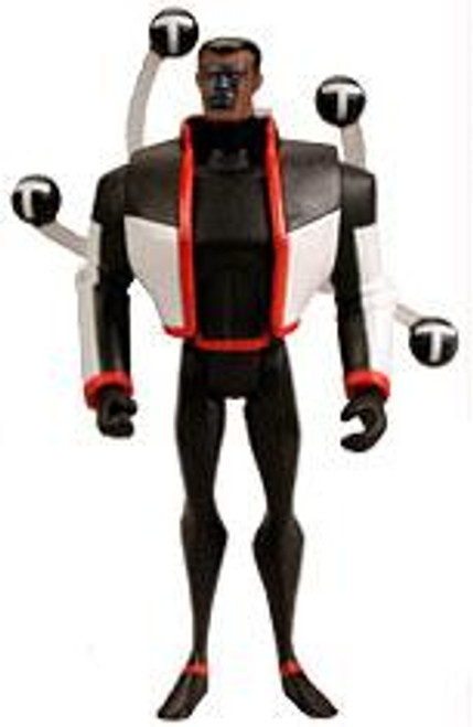 DC Justice League Unlimited Mr. Terrific with T-Spheres Action Figure