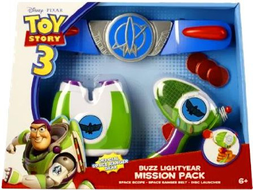Toy Story 3 Buzz Lightyear Mission Pack Roleplay Toy