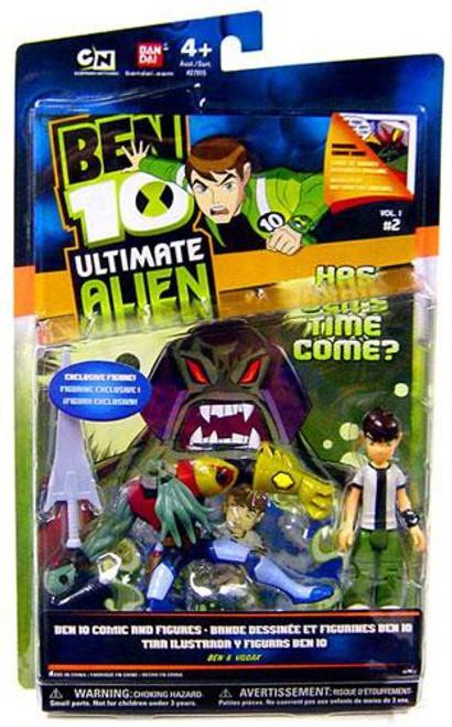 Ben 10 Ultimate Alien Ben Tennyson & Vilgax Exclusive Action Figure 2-Pack