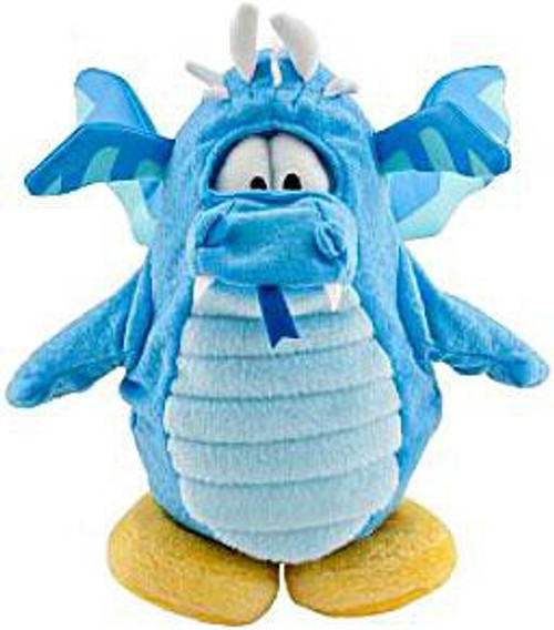 Club Penguin Series 8 Blue Dragon 6.5-Inch Plush Figure