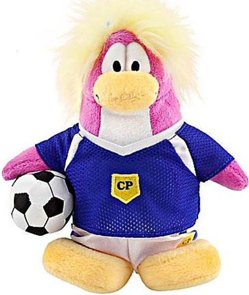 Club Penguin Series 8 Girl Soccer Player 6.5-Inch Plush Figure