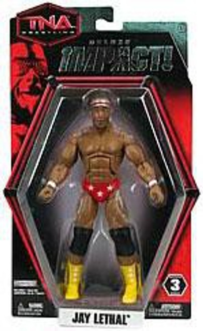 TNA Wrestling Deluxe Impact Series 3 Jay Lethal Action Figure
