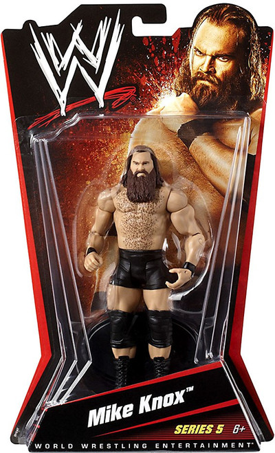 WWE Wrestling Series 5 Mike Knox Action Figure