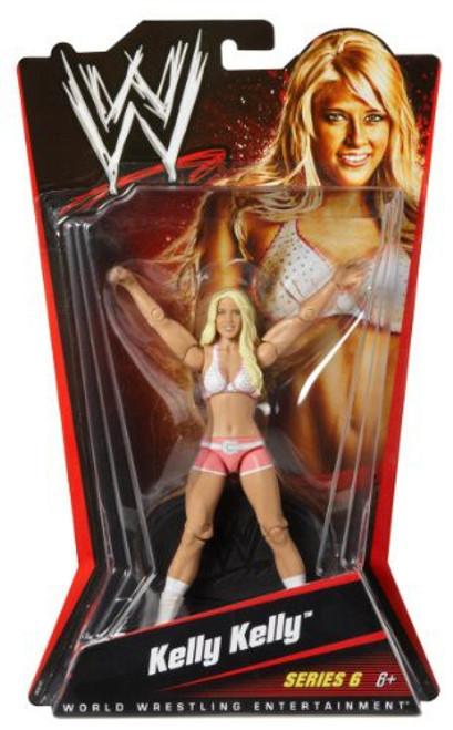WWE Wrestling Series 6 Kelly Kelly Action Figure