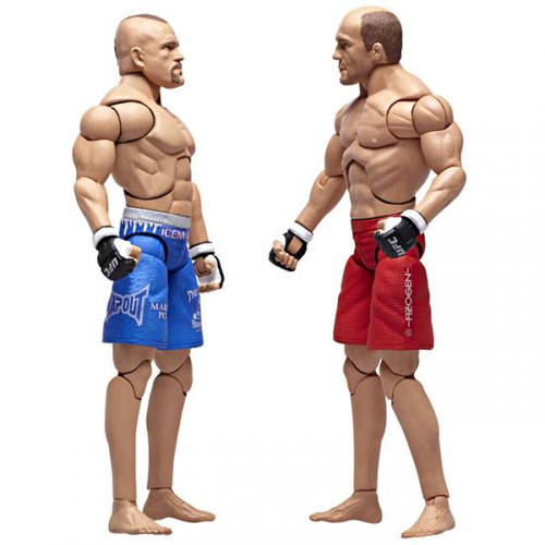 UFC Collection Series 2 Chuck Liddell vs. Randy Couture Action Figure 2-Pack