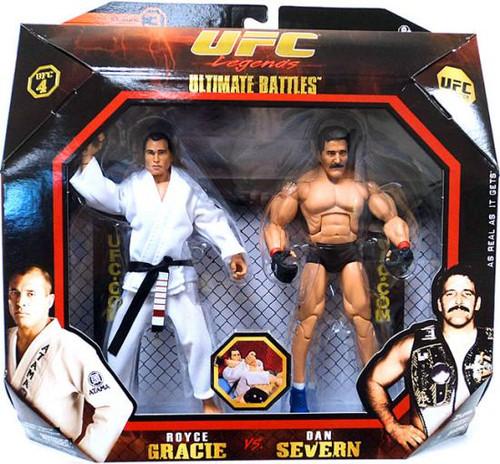 UFC Ultimate Battles Series 3 Royce Gracie vs. Dan Severn Action Figure 2-Pack [UFC 4]