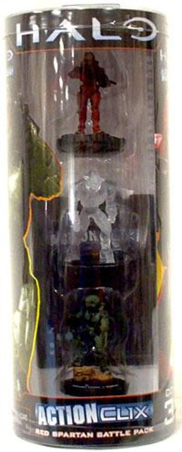 NECA Halo ActionClix Red Spartan Battle Pack