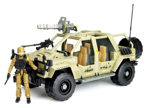 GI Joe Pursuit of Cobra VAMP 4X4 Action Figure Vehicle