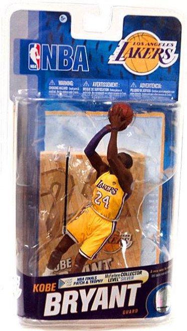 McFarlane Toys NBA Los Angeles Lakers Sports Picks Series 18 Kobe Bryant Action Figure [Finals Patch & Purple Armband]