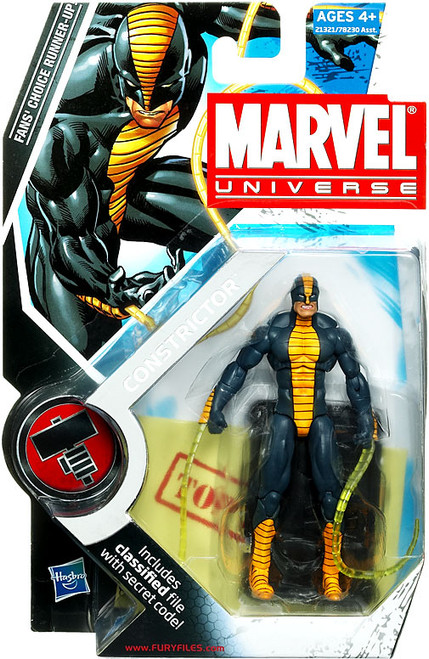 Marvel Universe Series 11 Constrictor Action Figure #25
