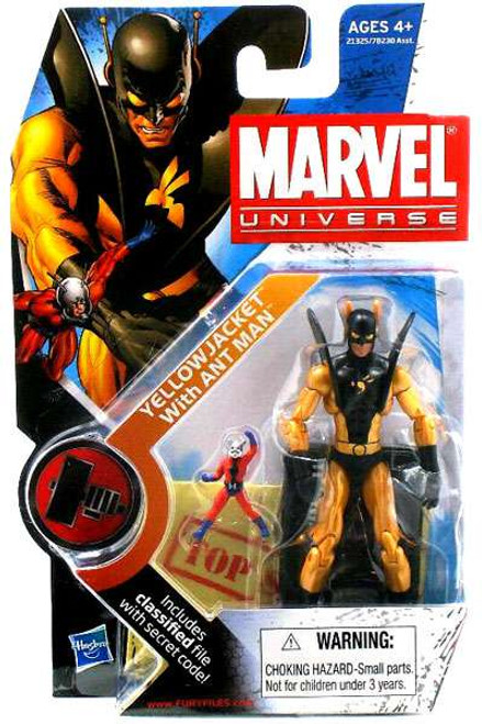 Marvel Universe Series 11 Yellowjacket & Ant-Man Action Figure #32