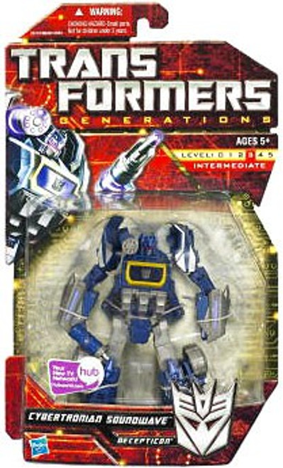 Transformers Generations Deluxe Cybertronian Soundwave Deluxe Action Figure