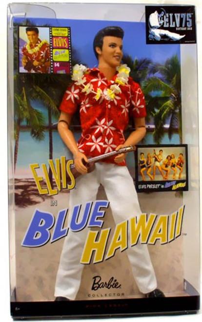 Evlis Presley Barbie Elvis Doll [Blue Hawaii]