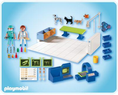 Playmobil Zoo Animal Clinic Vet Operating Room Set #4346