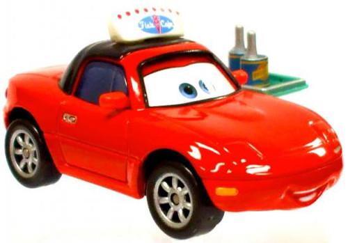 Disney Cars Loose Lenticular Waitress Tia Diecast Car [Flo's V8 Cafe, Loose]