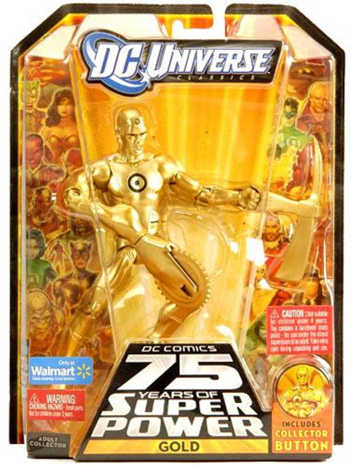 DC Universe 75 Years of Super Power Classics Gold Exclusive Action Figure