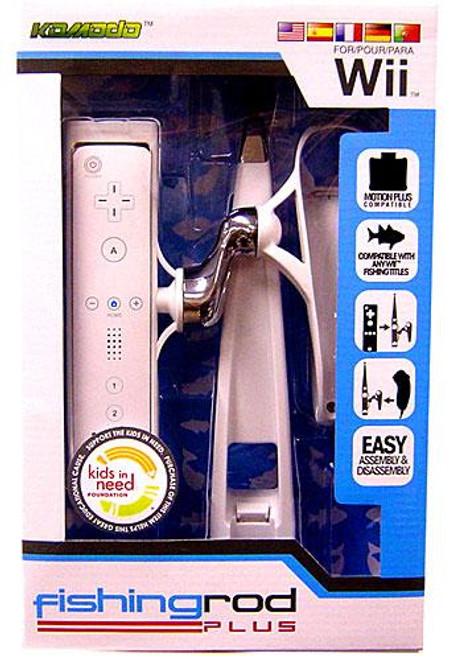 Nintendo Wii Fishing Rod Plus Video Game Controller