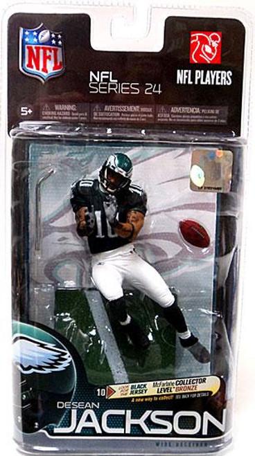 McFarlane Toys NFL Philadelphia Eagles Sports Picks Series 24 DeSean Jackson Action Figure [Black Jersey]