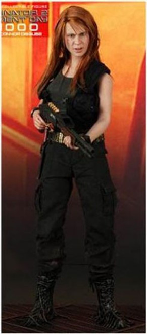 The Terminator Terminator 2 Judgment Day T-1000 as Sarah Connor 1/6 Collectible Figure