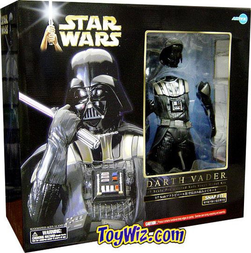Star Wars ArtFX Snap Fit Darth Vader 1/10 Vinyl Statue