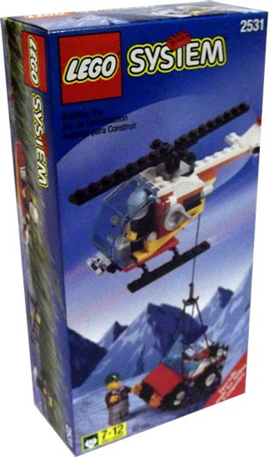 LEGO System Rescue Helicopter Set #2531