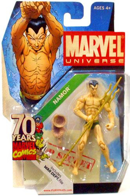 Marvel Universe 70 Years of Marvel Comics Namor Exclusive Action Figure SD2