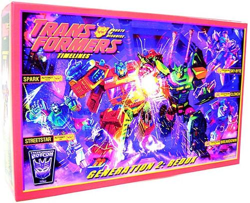 Transformers Timelines Botcon Exclusives Generation 2: Redux Exclusive Action Figure Set