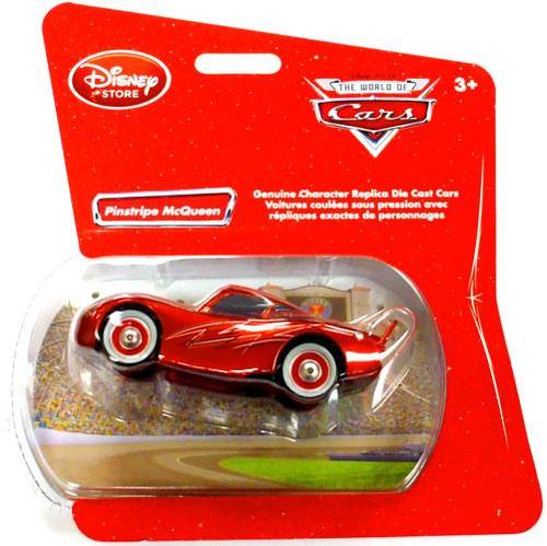 Disney Cars 1:48 Single Packs Pinstripe McQueen Exclusive Diecast Car