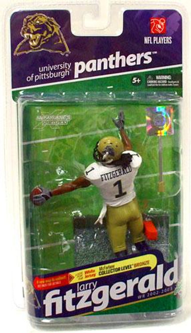 McFarlane Toys NCAA College Football Sports Picks Series 2 Larry Fitzgerald Action Figure [White Jersey]