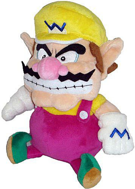 Super Mario Bros Wario 7-Inch Plush
