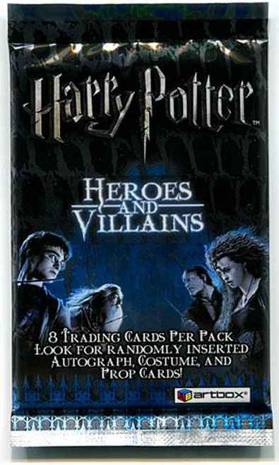 Harry Potter Heroes & Villains Trading Card Pack