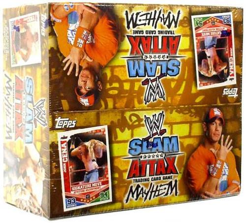 WWE Wrestling Slam Attax Mayhem Series 2 Booster Box