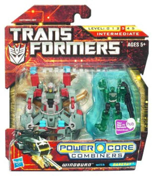 Transformers Power Core Combiners Windburn with Darkray Action Figure 2-Pack
