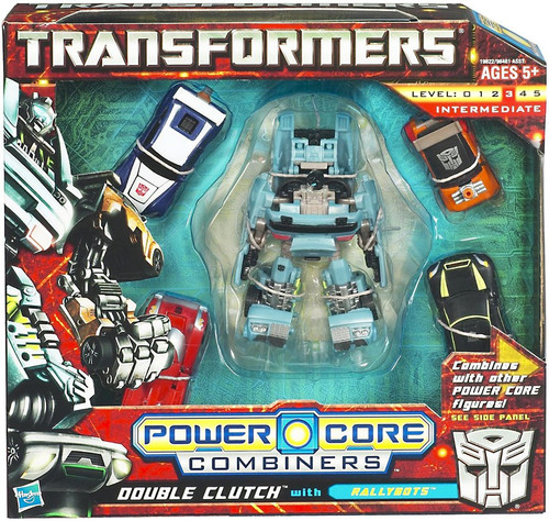 Transformers Power Core Combiners Double Clutch with Rallybots Action Figure 2-Pack