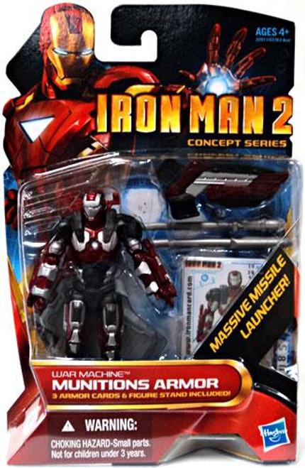 Iron Man 2 Concept Series Munitions Armor War Machine Action Figure #19