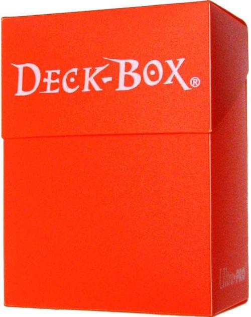 Ultra Pro Card Supplies Neon Orange Deck Box