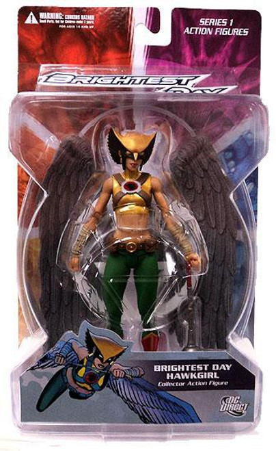 DC Green Lantern Brightest Day Series 1 Brightest Day Hawkgirl Action Figure