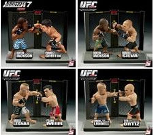 UFC Ultimate Collector Versus Series 1 Set of 4 Action Figure 2-Packs